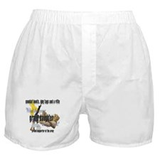 Army What Does Your Granddaughter Wear Boxer Short