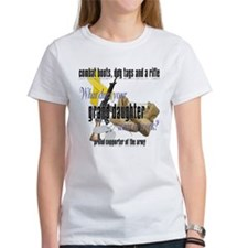 Army What Does Your Granddaughter Wear Tee