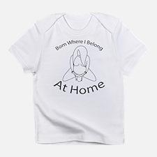 Cute Homebirth Infant T-Shirt