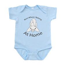 Funny Home birth Infant Bodysuit