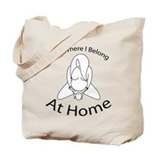 Born where I belong Tote Bag