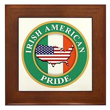 Irish American Pride Framed Tile