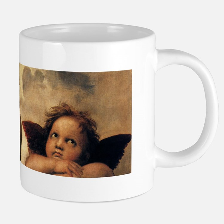 Cute Raffaello 20 oz Ceramic Mega Mug