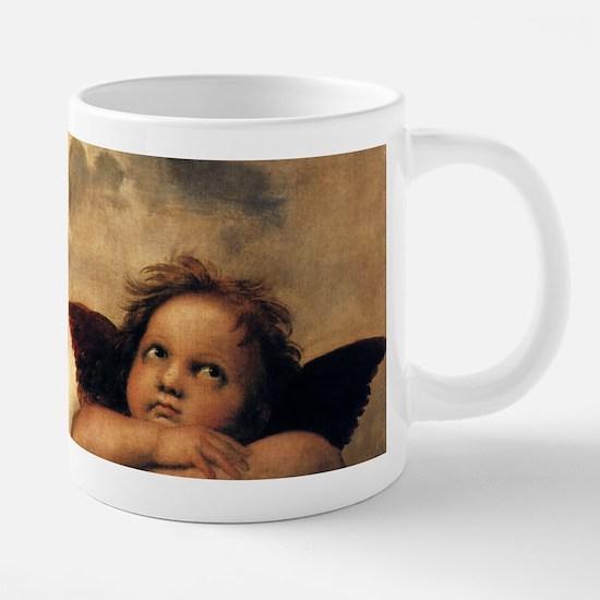 Angels by Raphael, Vintage  20 oz Ceramic Mega Mug