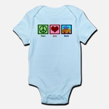 Peace Love Beach Infant Bodysuit