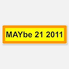 Unique May 21 Sticker (Bumper)