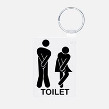 Funny Toilet Sign Keychains