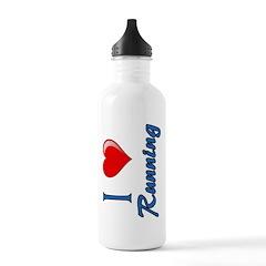 I Heart Running Water Bottle