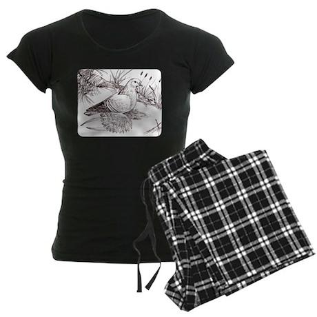 Saxon Field Pigeon Women's Dark Pajamas