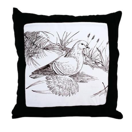 Saxon Field Pigeon Throw Pillow