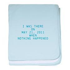 Nothing happened baby blanket