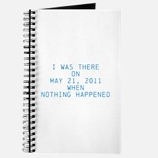 Nothing happened Journal