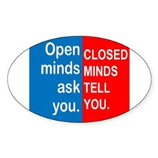 Open Mind Decal