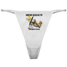 Army What Does Your Son Wear Classic Thong
