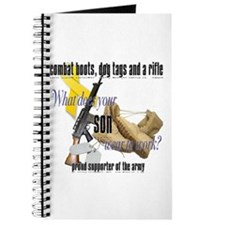 Army What Does Your Son Wear Journal