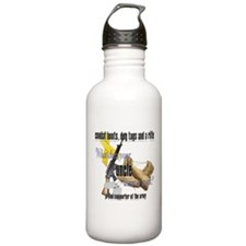 Army What Does Your Uncle Wear Water Bottle