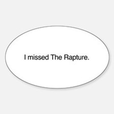 I missed The Rapture Decal