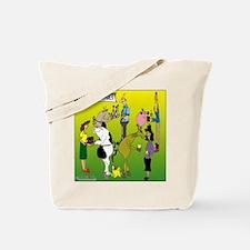 Domestic Animals Tote Bag