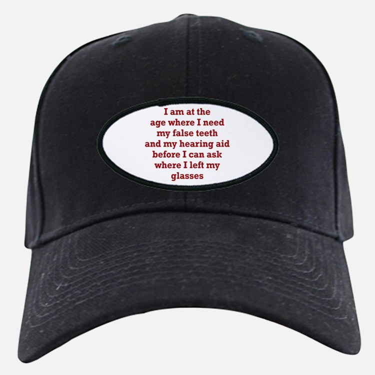 Dealing with Old Age Baseball Cap
