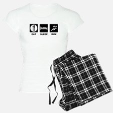 Eat sleep run Pajamas