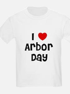 I * Arbor Day Kids T-Shirt