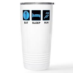 Eat sleep run Travel Mug