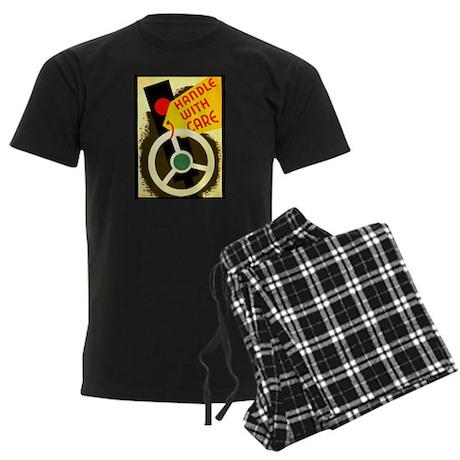 Handle With Care Men's Dark Pajamas