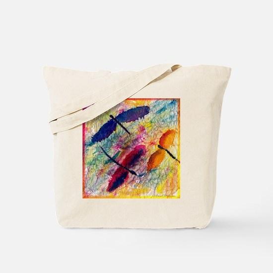 Dragonflies Tote Bag
