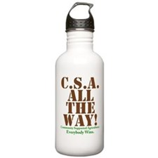 C.S.A. All The Way! Water Bottle