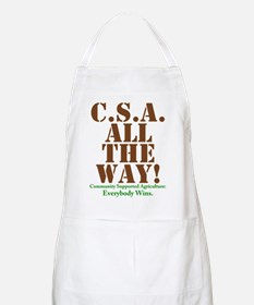 C.S.A. All The Way! Apron