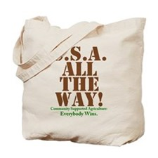 C.S.A. All The Way! Tote Bag