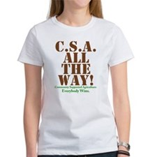 C.S.A. All The Way! Tee