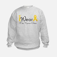 Personalize Childhood Cancer Sweatshirt