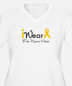 Personalize Childhood Cancer T-Shirt