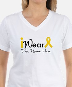 Personalize Childhood Cancer Shirt