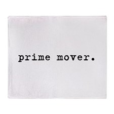 Prime Mover Throw Blanket