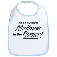 Mailman Nobody Corner Bib