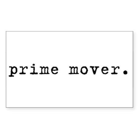 Prime Mover Sticker (Rectangle)