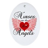 Nurses are angels Ornaments