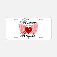 Cute Nurse student Aluminum License Plate