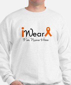 Personalize Leukemia Sweatshirt