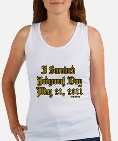 I Survived Judgment Day May 21, 2011 Women's Tank