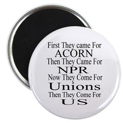 """1st They Came 2.25"""" Magnet (10 pack)"""