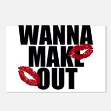 Wanna Make Out Postcards (Package of 8)