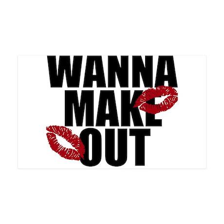 Wanna Make Out 38.5 x 24.5 Wall Peel
