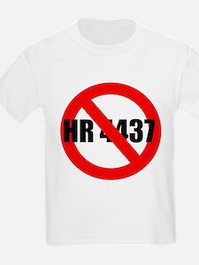 No HR 4437 Kids T-Shirt