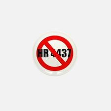 No HR 4437 Mini Button