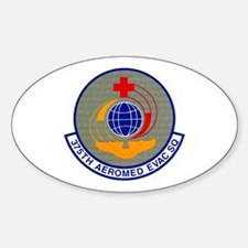 375th Aeromedical Evacuation Oval Decal