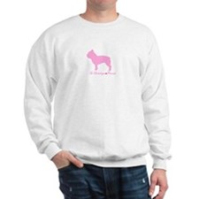 French Bulldog Pink Sweatshirt