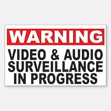 Warning Sticker (Rectangle)